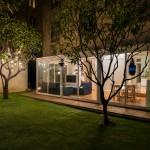 photographie immobiliere exterieur nocturne