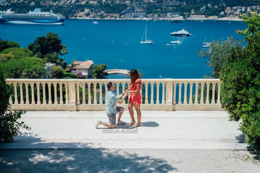 French Riviera Surpise Proposal (9)