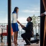 Surprise proposal photoshoot in Eze @ Chateau Eza